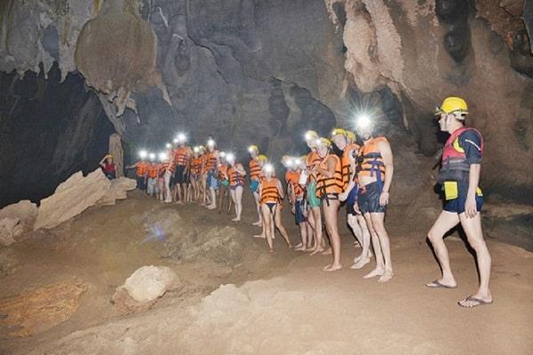Động Phong Nha - Sông Chày -  Hang Tối, tour du lịch Quảng Bình