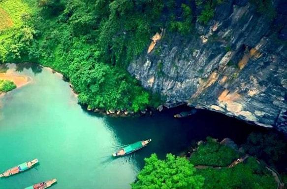 Động Phong Nha 4500m - Xuyên Sơn Hồ, Đi tour Phong Nha Kẻ Bàng