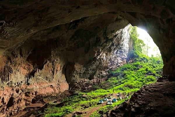 Thám hiểm hang Over 3 Ngày 2 Đêm, tour du lịch Quảng Bình