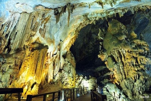 Động Thiên Đường – Thác Gió  - Hồ Vàng Anh, tour du lịch Quảng Bình