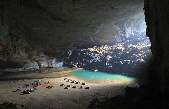 Rao Thuong - En cave