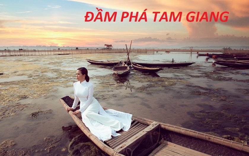 Tour Huế Tham Quan Phá Tam Giang 1 ngày
