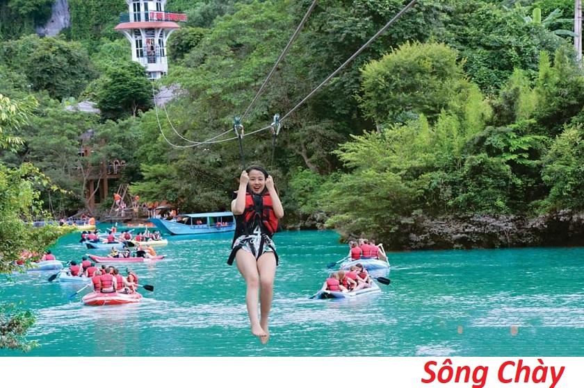 Động Phong Nha - Sông Chày -  Hang Tối