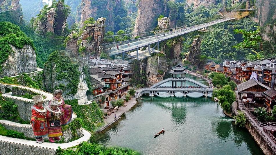 TOUR TRUNG QUỐC - CỔ TRẤN PHƯỢNG HOÀNG, tour du lịch Quảng Bình