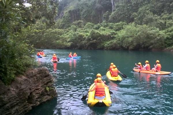 Tour du lịch Suối Nước Moọc, tour du lịch Quảng Bình
